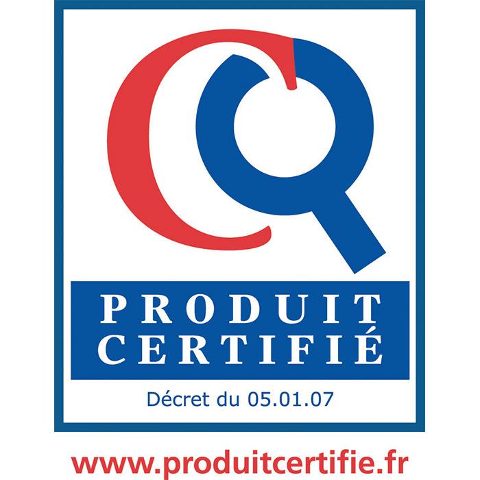 Produit Certifié